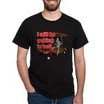 Golfing in Hell Black T-Shirt