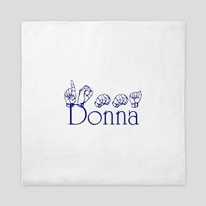 Donna copy Queen Duvet
