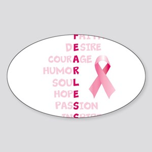 FEARLESS Sticker (Oval)