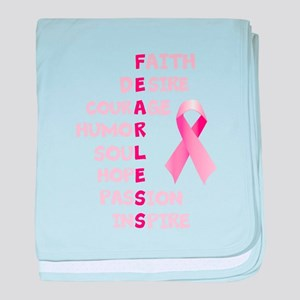 FEARLESS baby blanket