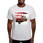 Golfing in Hell Ash Grey T-Shirt