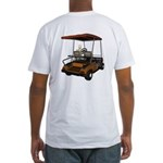 Golfing in Hell Fitted T-Shirt