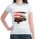 Golfing in Hell Jr. Ringer T-Shirt