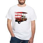 Golfing in Hell White T-Shirt