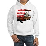 Golfing in Hell Hooded Sweatshirt