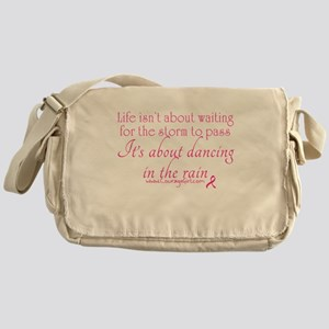 Dancing in the Rain Messenger Bag