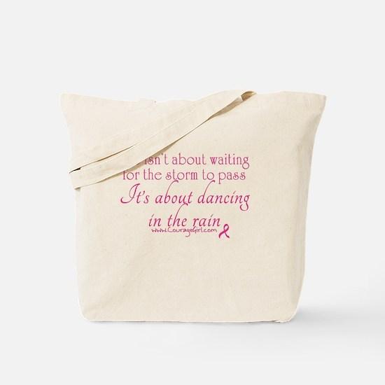 Dancing in the Rain Tote Bag
