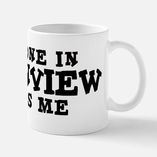 Greenview: Loves Me Mug