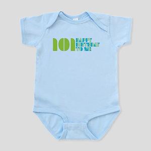 Happy Birthday 101 Infant Bodysuit