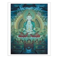 Amithaba Buddha poster