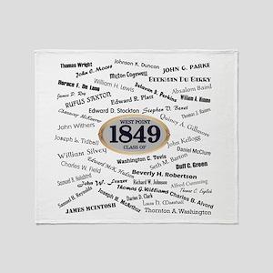 West Point - 1849 Throw Blanket