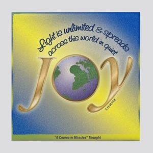 ACIM Keepsake Tile Coaster - Light is Unlimited