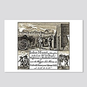 18th Century Privy Cleaner Postcards (Package of 8