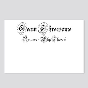 Team Threesome Postcards (Package of 8)