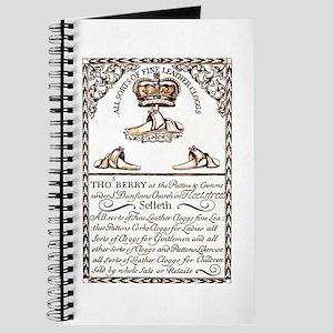18th Century Shoe Ad Journal