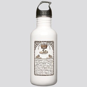 18th Century Shoe Ad Stainless Water Bottle 1.0L