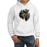 Schnauzer Hooded Sweatshirt