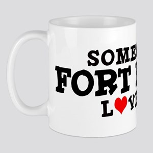 Fort Bragg: Loves Me Mug