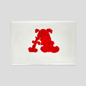 Scarlet Letter Rectangle Magnet