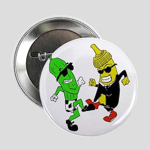 """Mustard Pickle 2.25"""" Button"""