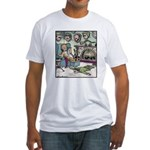 A Tiger's Trophy room Fitted T-Shirt
