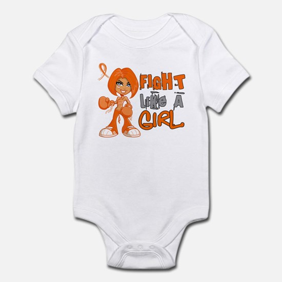 Licensed Fight Like a Girl 42.8 RS Infant Bodysuit