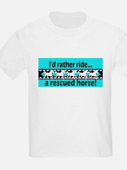 Horse Rescue Kids T-Shirt