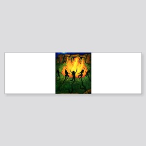 Fire Dance Sticker (Bumper)