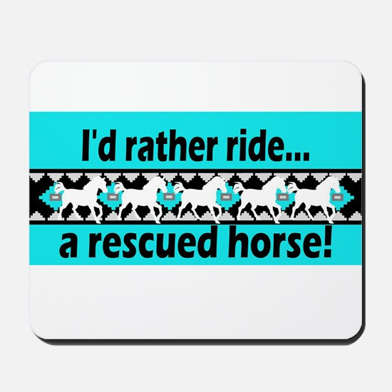 Horse Rescue Mousepad