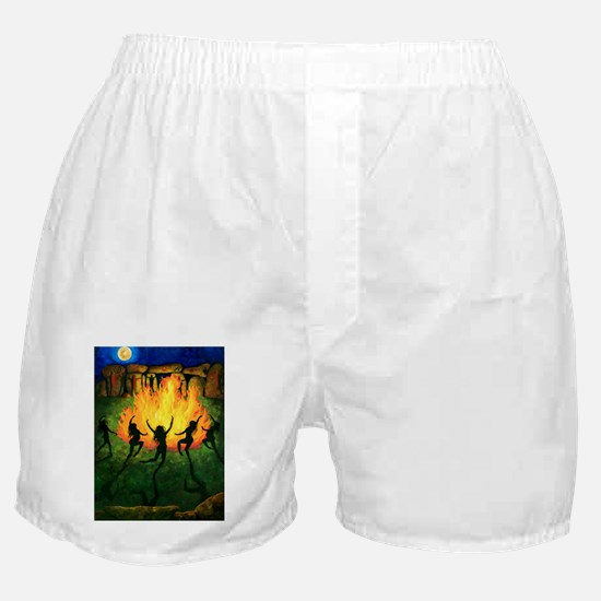Fire Dance Boxer Shorts