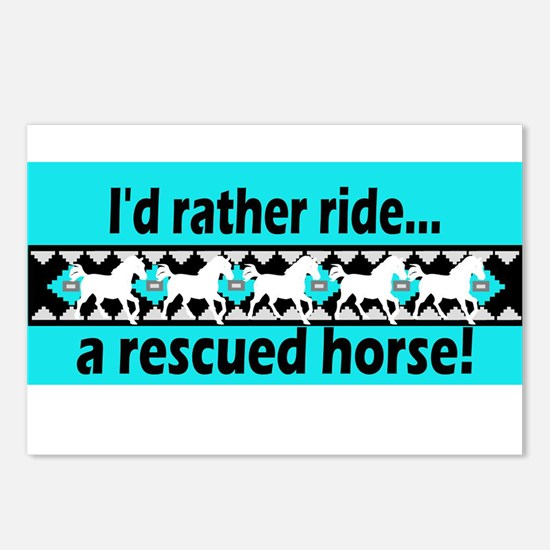 Horse Rescue Postcards (Package of 8)