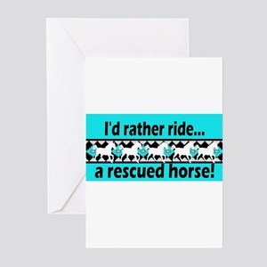 Horse Rescue Greeting Cards (Pk of 10)
