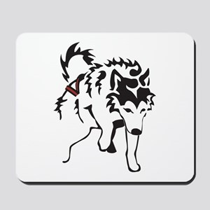 Alaskan Malamute Weight Pull Mousepad