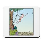 Tarzan runs out of Jungle Mousepad