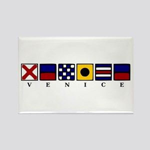 Nautical Venice Rectangle Magnet