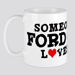 Ford City: Loves Me Mug