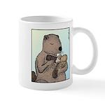 Mother Beaver and Baby Mug