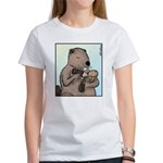 Mother Beaver and Baby Women's T-Shirt