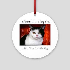 Judgment Cat Ornament (Round)