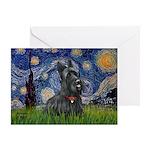 StarryNight-Scotty#1 Greeting Card