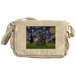 StarryNight-Scotty#1 Messenger Bag