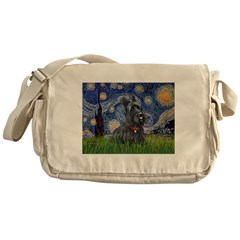 StarryNight-Scotty#1 Messenger Bag