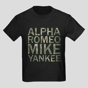 ARMY-Camo Kids Dark T-Shirt