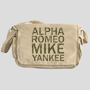 ARMY-Camo Messenger Bag