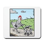 Mother Hen and her Eggs Mousepad