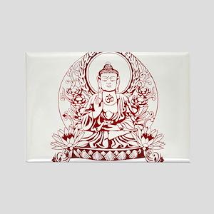 Gautama Buddha Rectangle Magnet