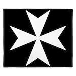 Maltese Cross King Duvet