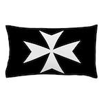 Maltese Cross Pillow Case