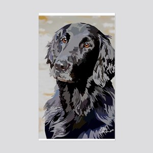 Flat Coated Retriever Sticker (Rectangle)