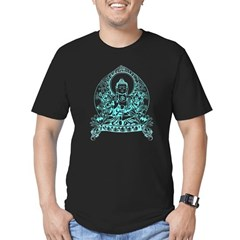 Gautama Buddha Men's Fitted T-Shirt (dark)